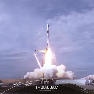 NASA SpaceX Complete Final Major Flight Test of Crew Spacecraft