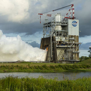 NASA Invites Media, Social Media to a Space Launch System RS-25 Engine Test