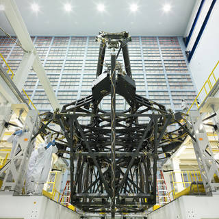 James Webb Space Telescope Structure Poised for Mirror Assembly image