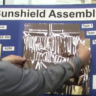 "NASA's Webb Sunshield ""Working Stiff"" in New 'Behind the Webb' Video image"
