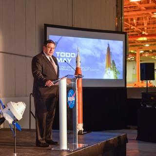 Todd May Named Marshall Space Flight Center Director