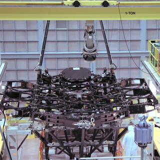New Video Shows NASA's Webb Telescope First Mirror Installation image