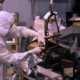 """Engineers Conduct """"Heart Surgery"""" on the Webb Telescope image"""