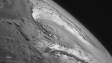 GOES-West image of Arthur