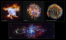 To celebrate Chandra's 15th anniversary, four newly processed images of supernova remnants have been released.