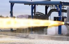 SpaceX SuperDraco test fire
