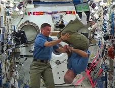 Komutanı Steve Swanson ve Uçuş Mühendisi Reid Wiseman