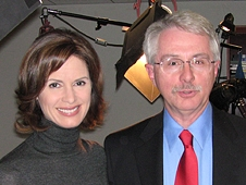 ABC News 20/20 anchor Elizabeth Vargas interviewed NASA's Bruce Fisher in New York City.