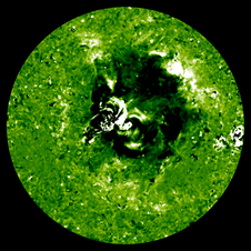 Solar Tsunami as seen by STEREO.