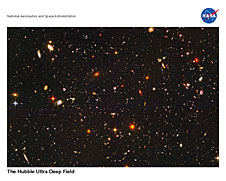 The Hubble Ultra Deep Field Lithograph