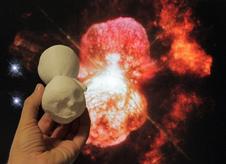 3-D-printed model of Homunculus Nebula