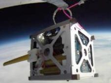 PhoneSat 1.0 during high-altitude balloon test