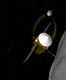 Concept image of OSIRIS-REx.