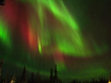 Finland aurora resulting from CME impact on Feb. 26, 2012.