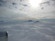 Mountains seen from the IceBridge DC-8 during a survey of the Getz Ice Shelf on Oct. 27, 2012.