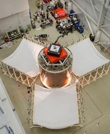 Orion service module fairing panels