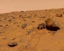 Mars Pathfinder's Sojourner rover