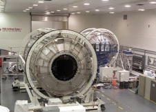 The Boeing Company manufactured the first element to be delivered to space station, the Unity node, launched on December 4, 1998, and the U.S. Destiny Laboratory launched on February 7, 2001. Both were built in the same advanced manufacturing area at NASA's Marshall Space Flight Center.