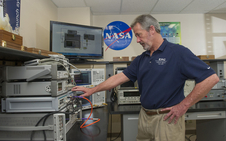 Jeff Cheatham, senior metrologist at NASA's Marshall Space Flight Center, developed 2,400 automated software procedures