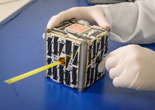 file photo of PhoneSat 2.5, an example of a CubeSat