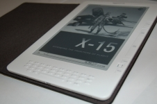 X-15 ebook on a kindle.