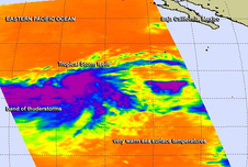 AIRS image of Iselle
