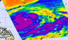 AIRS image of Vongfong