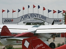 The Experimental Aircraft Association AirVenture air show and fly-in in Oshkosh, Wis., attracts hundreds of thousands of aviation enthusiasts from around the world, including NASA.