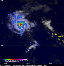 TRMM image of Ana