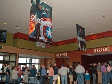 "Glenn coworkers at Plum Brook Station attended a special showing of ""The Avengers"""