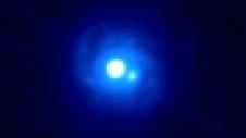 Hubblebillede af B0218+357