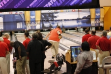 Brian Campbell bowling during the Baton Rouge USBC Open