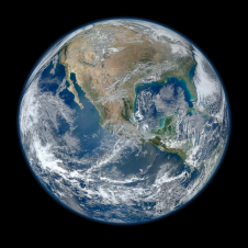 """Blue Marble"" photo of Earth"
