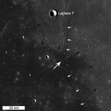 LROC WAC context mosaic for the Chang'e 3 landing site
