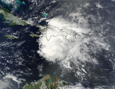 Terra image of Chantal