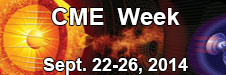 Join NASA Sept 22-26 for CME Week. Follow and ask questions at #CMEWeek on Twitter.