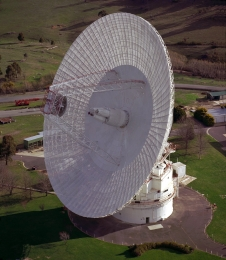The Deep Space Network antenna in Canberra, Australia