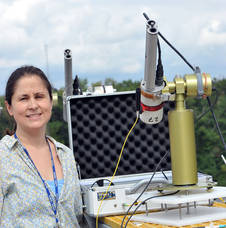 NASA Goddard scientist Emily Wilson