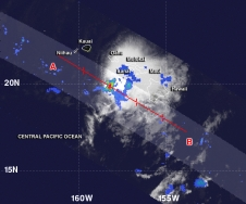 rainfall map of Flossie
