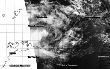 MODIS image of Gillian