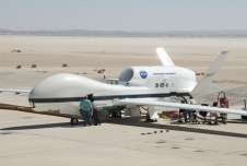 NASA's Global Hawk (pictured here) and a fleet of aircraft equipped with sophisticated sensors will fly 12 NASA campaigns around the world in 2014. From Antarctica to the Arctic, airborne scientists will study polar ice sheets, urban air pollution, hurricanes and more.