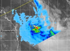 TRMM instrument image of Ita