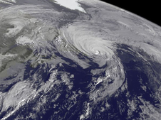 GOES-East image of Gonzalo