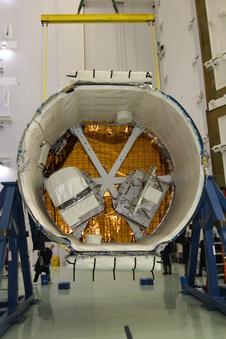 RapidScat's two-part payload