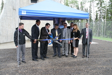 Ribbon cutting for AS-3