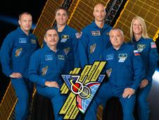 iss036-s-002 -- Expedition 36 crew