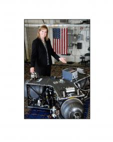 Julie Bassler - Robotic Lunar Lander Development Project Manager