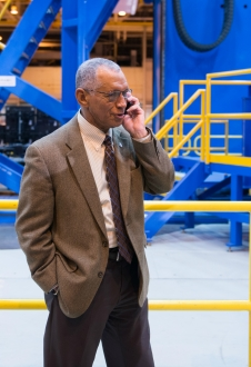 Administrator Bolden talks to ISS astronauts