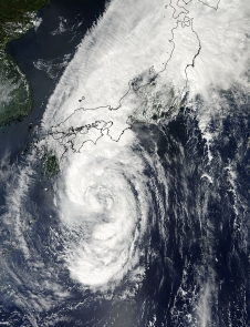 Man-yi over Japan Sept. 15