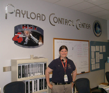 Meegan Mehan in Payload Control Center